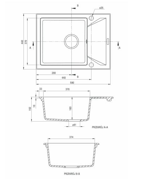 ZQJ 211A izlietne Evora specifikācija
