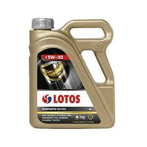 Motoreļļa Lotos SYNTHETIC C2+C3 5W-30 5L