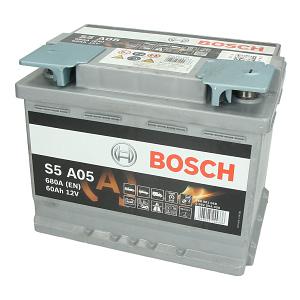 Akumulators Bosch AGM 0 092 S5A 050