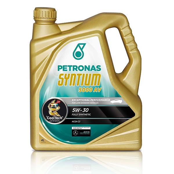 Motoreļļa Petronas Syntium 5000 AV 5W30 4L