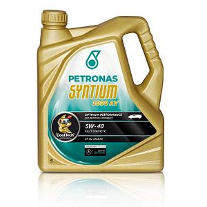 Motoreļļa Petronas Syntium 3000 AV 5W40 4L
